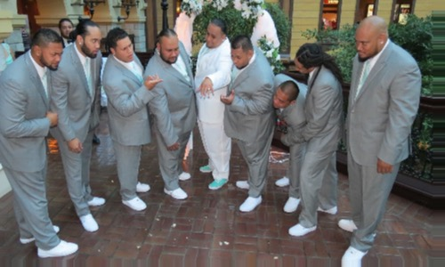 Ty & his Groomsmen