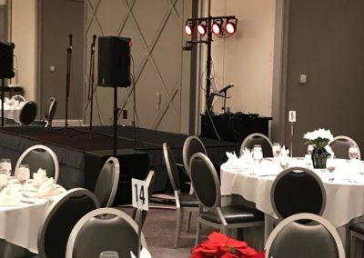 Davita XMas Party Set Up 2