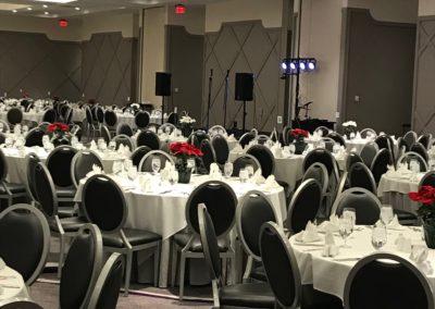 Davita XMas Party Set Up